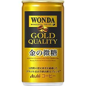 アサヒ飲料 ワンダ 金の微糖 185ml×30本