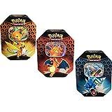 Pokemon Hidden Fates Set of 3 Tins- Charizard, Gyarados, and Raichu