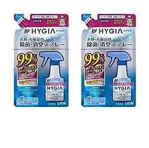 【まとめ買い】トップ ハイジア 消臭・芳香剤 除菌・消臭スプレー つめかえ用 320mL × 2個セット
