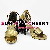 【サイズ選択可】コスプレ靴 ブーツ K-2203 スーサイド・スクワッド Suicide Squad ハーレークィン Harley Quinn 女性25CM