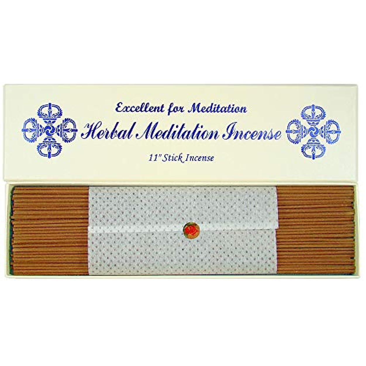 剥離震え同化するハーブMeditation Incense – 11