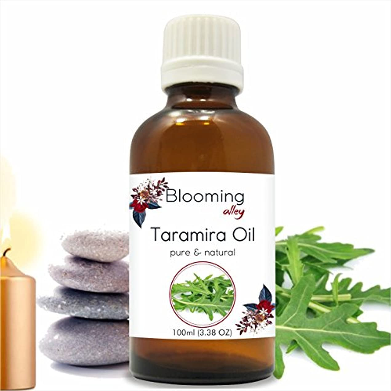 闘争圧縮する強化するTaramira Oil(Eruca Sativa) Essential Oil 100 ml or 3.38 Fl Oz by Blooming Alley