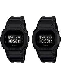 [カシオ]CASIO ペアBOX付 G-SHOCK ジーショック ペアウォッチ ソリッドカラーズ デジタル 20気圧防水 ブラック DW-5600BB-1DW-5600BB-1 腕時計[並行輸入品]