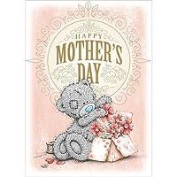 Me to You Happy Mothers DayカードBear &フラワーボックス–Tatty Teddy Bear