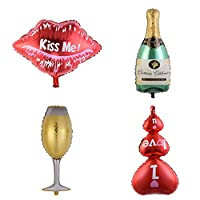 Sund 誕生日 飾り付け アニバーサリー バルーン 可愛い 風船 100日祝い 飾り バースデー 飾り 誕生日飾り付け アニバーサリー 装飾 バースデー背景 結婚式 飾り付け 選べる4タイプ シャンパン
