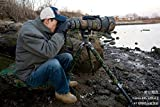 RolanPro ニコン レンズ保護カバー Nikon AF-S 600mm f/4D ED II用 迷彩レンズ コート [並行輸入品]