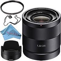 Sony vario-tessar T E 16–70mm f / 4ZA OSSレンズsel1670z + 55mm UVフィルタ+ FiberCloth +レンズCapkeeperバンドル