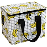 Insulated Lunch Box bag in Bananas print by KOLLAB