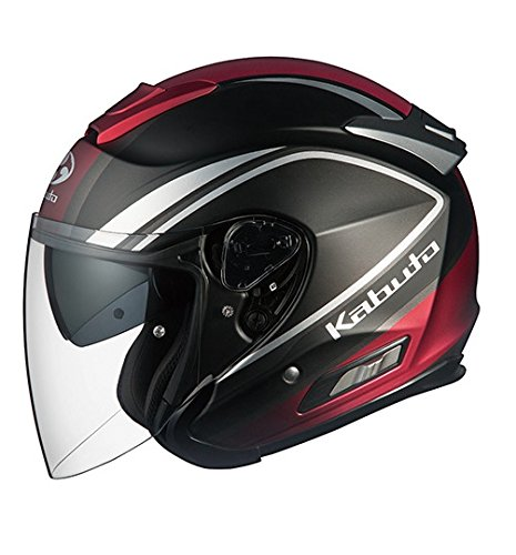 オージーケーカブト(OGK KABUTO)バイクヘルメット ジェット ASAGI CLEGANT (クレガント) フラットブラック (サイズ:L)