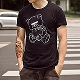 在庫処分!UNDERCOVER (アンダーカバー) NEU BEAR Tシャツ ワンポイント U Tシャツ 男女兼用 オシャレ ブラック ホワイト