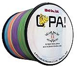 OPA PEライン 1000m 4編 5色カラー 釣り糸 高強度 高感度 高耐久 特殊コーティング (0.6号 10lb)
