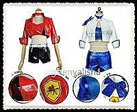 【即納】Fate grand order セイバー Saber レースクイーン コスプレ衣装 S/M/L/XL 自由選び 複数可