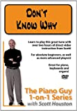 Piano Guy 1-On-1 Series: Don't Know Why [DVD] [Import]