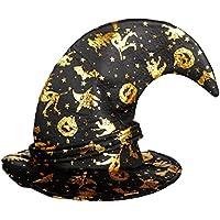 【ノーブランド 品】ハロウィン パーティー コスプレ 道具 仮装用 ウィザード 魔女帽子 キャップ ハット キャップ 大人 子供