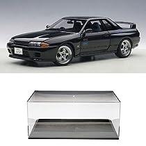 【セット商品】 AUTOart 1/18 日産 スカイライン GT-R (R32) V-Spec II 新劇場版 『頭文字D Legend2 -闘走-』 + ディスプレイケース