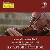 バッハ / バッハ:無伴奏ヴァイオリンのためのソナタとパルティータ全曲 アッカルド(2007)(2SACD)