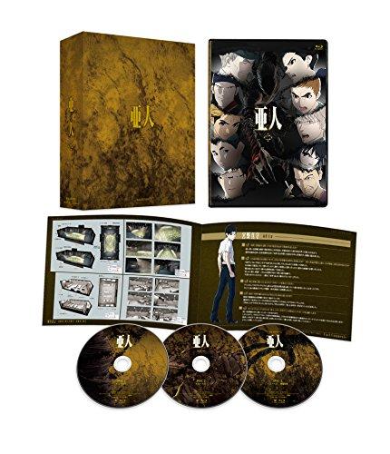 TVシリーズ「亜人」第2クール Blu-ray BOX[Blu-ray/ブルーレイ]