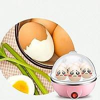 ブルー:マルチfonctiongénériqueELECTRIQUE卵炊飯器はjusqu'à7œufsショーディエールàVAPEUR Outilsデ料理Ustensileを注ぎます
