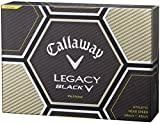 Callaway(キャロウェイ) ゴルフボール(1ダース12個入り) LEGACY BLACK 2015年モデル 4219521200117 イエロー