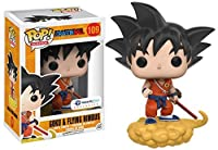 [ドラゴン ボール]Dragonball Funko Pop Animation Orange Suit Goku and Flying Nimbus Exclusive Vinyl Figure 11871 [並行輸入品]