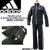 (アディダス)adidas レディース トレーニング 定番ウインドブレーカースーツ BIK96/BIK97 (M, AP3669-AP3676/ブラック)