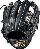 ZETT(ゼット) 野球 軟式 グラブ (グローブ) デュアルキャッチ オールラウンド 右投用 ブラック(1900) LH BRGB34830