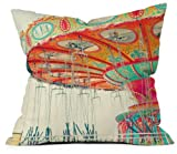 Deny Designs Shannon Clark Swinging Throw Pillow 18 x 18 [並行輸入品]