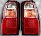トヨタ 185系 ハイラックスサーフ/LEDテールライト(クリア/レッド)左右セット