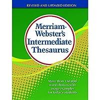 Merriam-Webster MW-1768-A1 Intermediate Thesaurus Hardcover [並行輸入品]