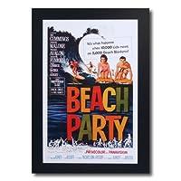 サーフムービーポスター L-121 「BEACH PARTY」 サイズ:31.5×20.5cm