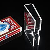 クリスタルカードガードクリップとデッキホルダー( 3mm )