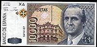Banknote 10000Pesetas–スペイン1992