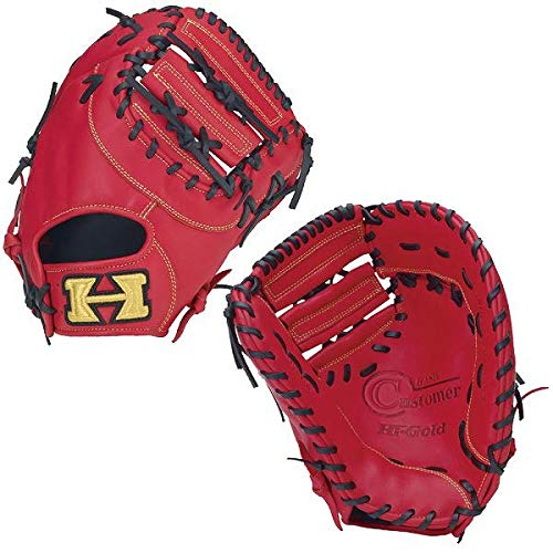 HI-GOLD(ハイゴールド) ソフトボールファーストミット ベーシックシリーズ 一塁手用 BSG-79F