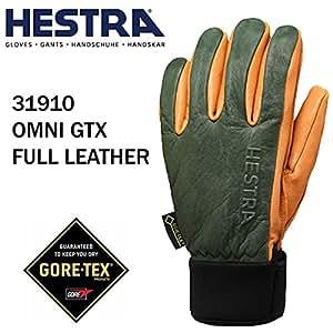 HESTRA(ヘストラ) ヘストラ スキーグローブ ゴアテックス OMNI GTX FULL LEATHER FOREST NATURAL BROWN(31910-860700)(16-17 2017)hestra スキーグローブ 6