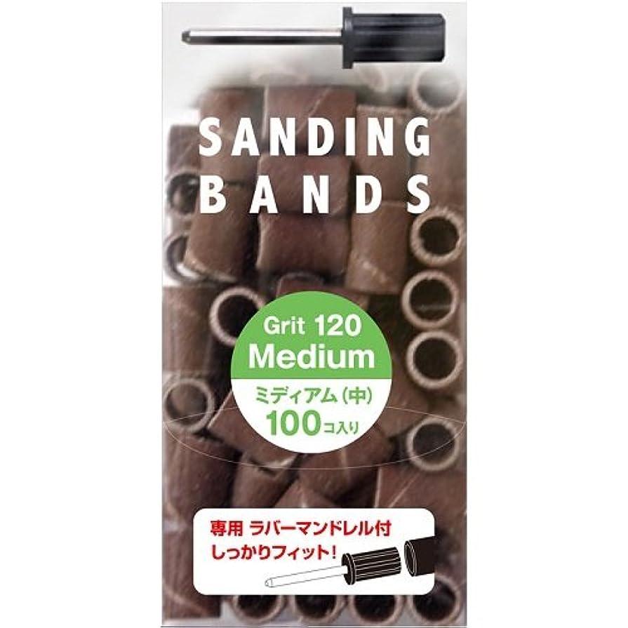 気怠い吸収するゴージャスサンディングバンド(SB-120)