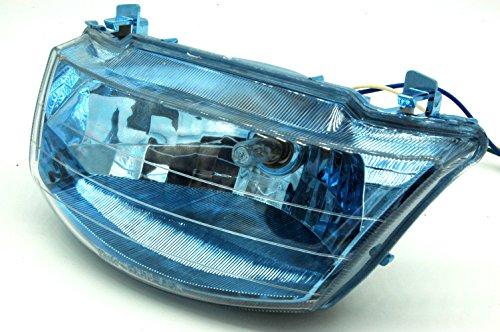 Micopuella ヤマハ リモコン ジョグ JOG zr エボリューション sa16j ( 5KN 5PT ) ヘッドライト assy マイクロファイバークロス 付き (スモークウインカーセット)