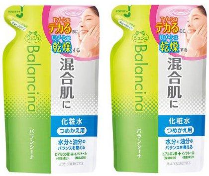【まとめ買い】 バランシーナ 混合肌用化粧水 つめかえ用 130mL ×2個