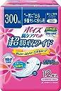 ポイズ 肌ケアパッド 超吸収ワイド 多量モレに安心用300cc 12枚 【軽い尿モレ 女性用】