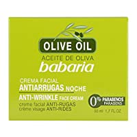 Babaria Olive Oil Anti Wrinkle Night Face Cream 50ml