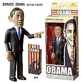 バラクオバマ アメリカ大統領 アクションフィギュア /BARACK OBAMA/人形・ドール/アメリカ雑貨/
