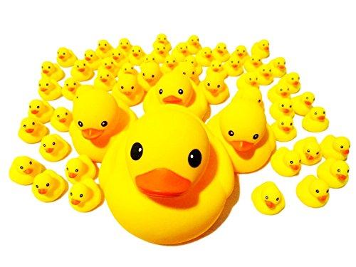アヒルの親子 ウキウキ 63個 セット お風呂が楽しい 【 動物のおまけ3個付き 】