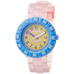 [フリック フラック]FLIK FLAK キッズ腕時計 SWIRLY CANDY ZFCSP045 ガールズ 【正規輸入品】