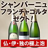 ワインセット 極上の泡を世界から集めました 珠玉のスパークリングワイン3本セット 第4弾