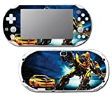 Transformers Bumblebee Autobots Car Auto Robot Video Game Vinyl Decal Skin Sticker Cover for Sony Playstation Vita Slim 2000 Series System by Vinyl Skin Designs [並行輸入品]