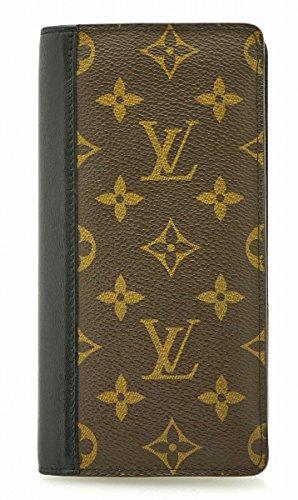 [ルイ ヴィトン] LOUIS VUITTON モノグラムマカサー ポルトフォイユ タノン 2つ折長財布 M93800 [中古]