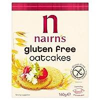 ネアンのグルテンフリーのオウトゥケイクの160グラム - Nairn's Gluten Free Oatcake 160g [並行輸入品]