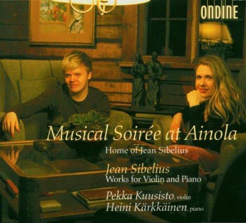 シベリウス:5つの田園舞曲/ヴァイオリンとピアノのための小品集