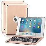 iPad MiniケースBORIYUANヴィンテージGenuineレザーカバーfor Apple iPad Mini 3/Mini 2/Mini 1 PB-IPMN4-F1