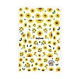 ネイルシール ひまわりシール 花 フラワー 一輪花 ひまわり ヒマワリ 向日葵 サンフラワー 夏 サマー
