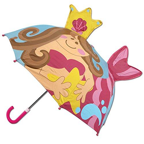 ステファンジョセフ 傘 Stephen Joseph 女の子用雨の日が楽しくなっちゃうマーメイドさんポップアップアンブレラ [並行輸入品]